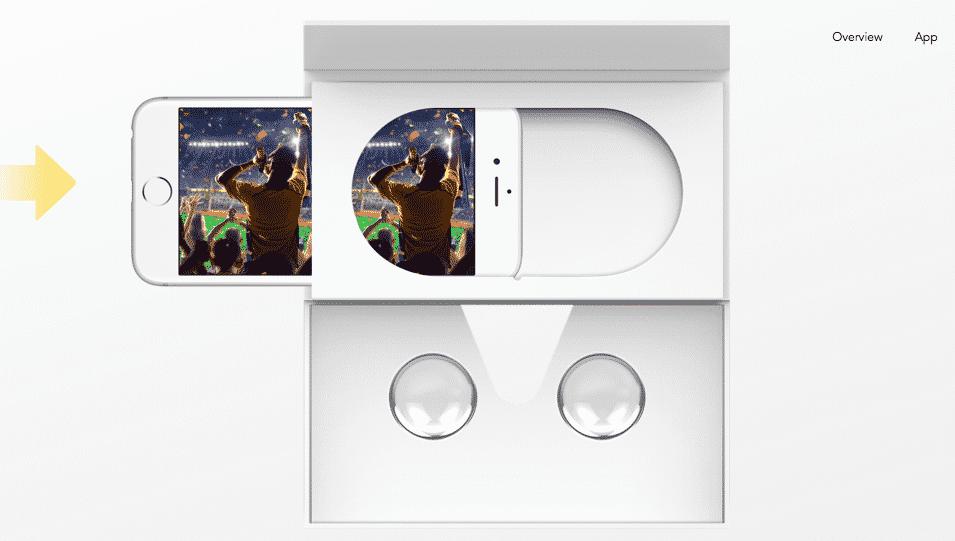 Insta360 Nano Cardboard VR Viewer