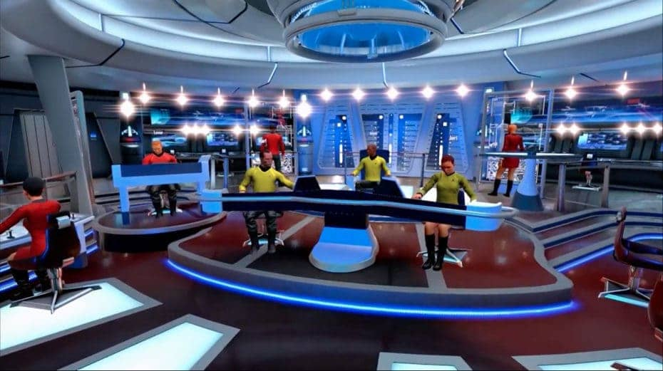 Star Trek Bridge Crew in Virtual Reality