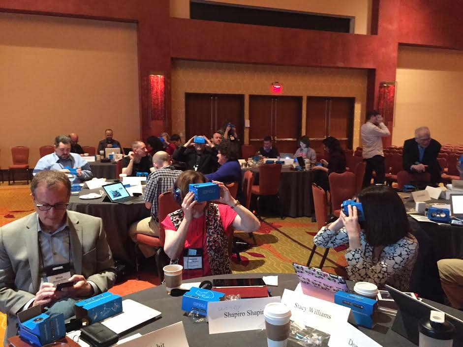 Consulting Services VR Workshop at ELI 2016
