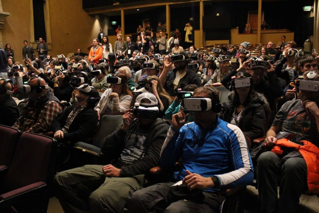 Virtual Reality at Sundance - Daydream VR could make these scenes more common