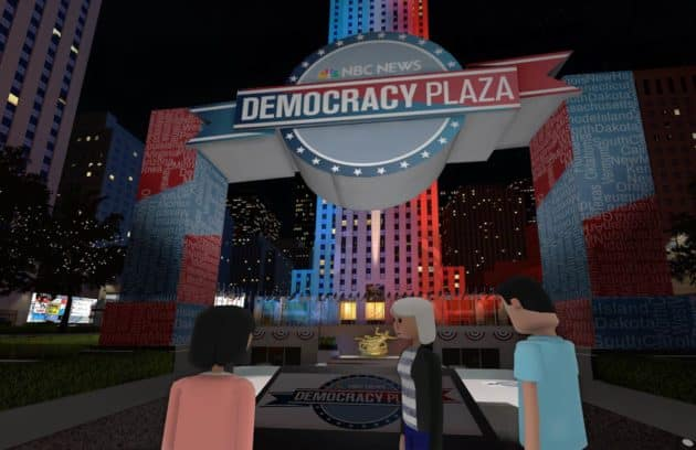 Presidential Debate in VR