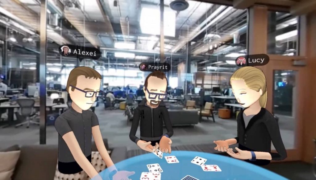 Social VR from Facebook using the Oculus Rift