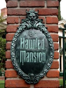 The haunted_mansion at Disney - an early immersive experience