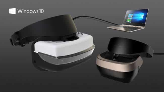 Virtual Reality Headset from Microsoft