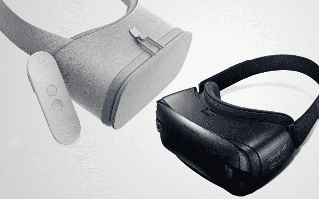 Daydream View and Gear VR side by side - one of our Virtual Reality predictions