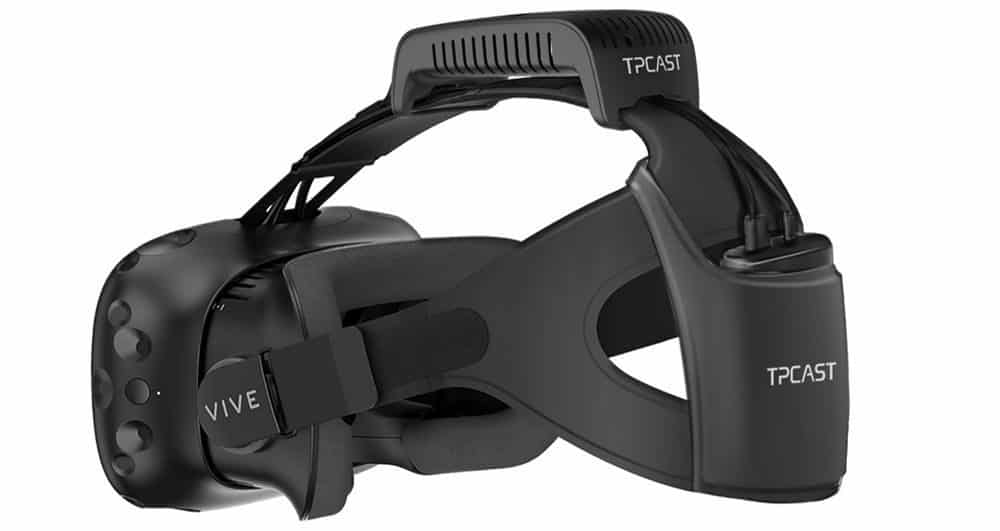 HTC Vive Wireless VR Kit for headset with transmitter and battery pack