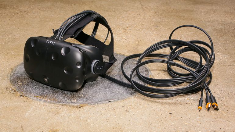 Htc Vive Wireless Kit Cuts The Cord For High End Vr