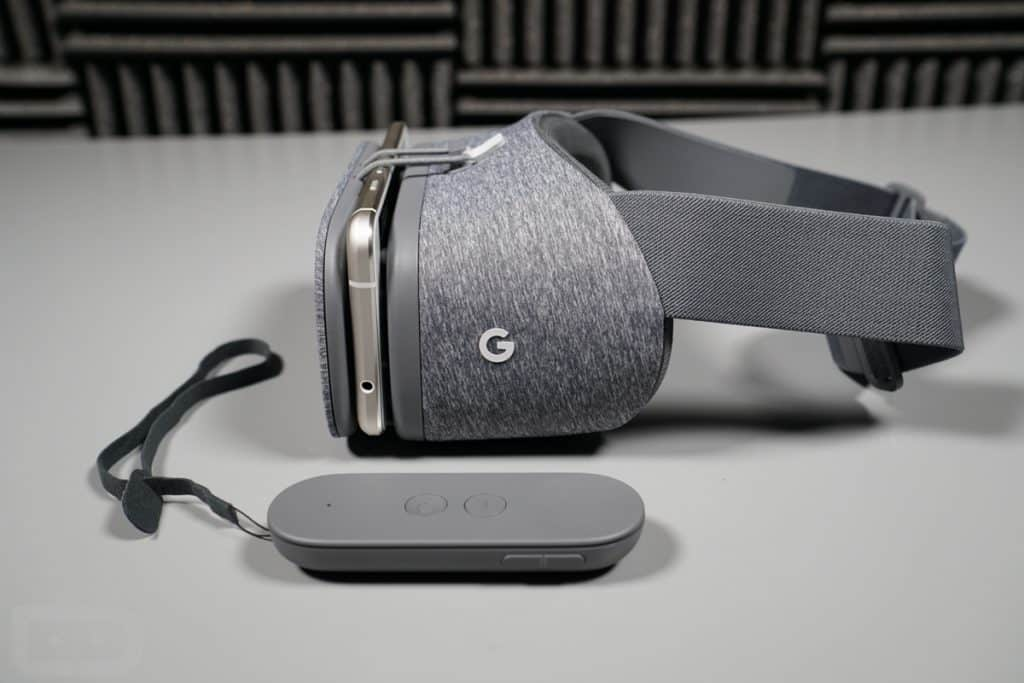 Google's new Daydream VR Headset is a soft fabric covered device