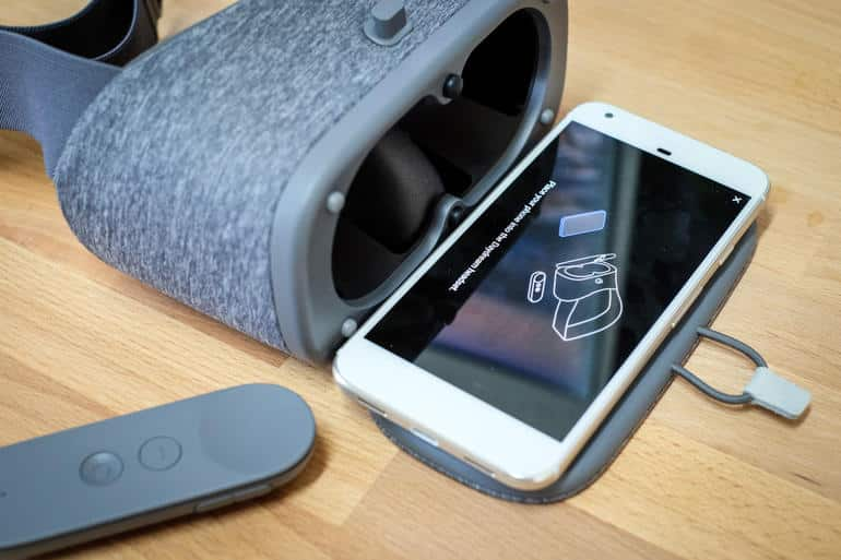 Just pop a Pixel Phone into the Google Daydream View and immerse yourself in VR