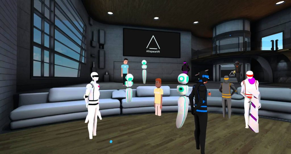 AltSpaceVR New Year's Eve in Virtual Reality
