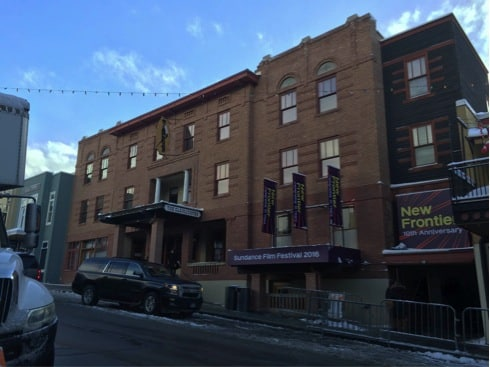 The Sundance New Frontier program is located in the Claim Jumper Building in Park City, Utah