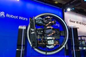 Samsung's VR Rides are a sign of what the future holds