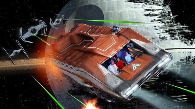 Samsung VR Rides a sign of what's to come: Star Wars Disney Rides