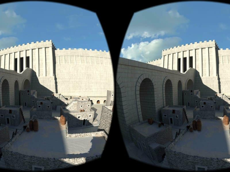 Ancient World in Virtual Reality - Lithodomos