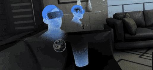 The Hulu VR app