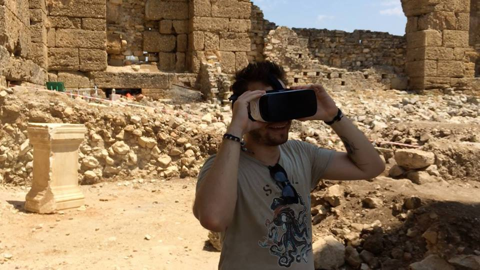 Using VR to understand the past