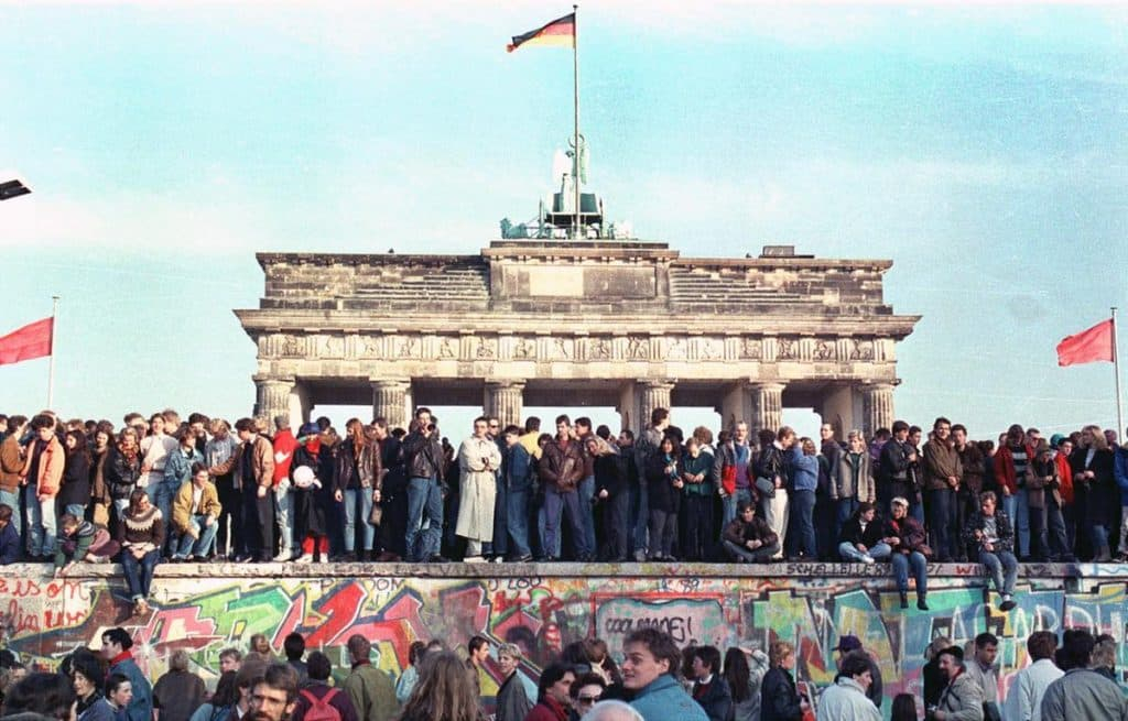 The Berlin Wall - Higher Education lives in a new era today with renewed talk of walls