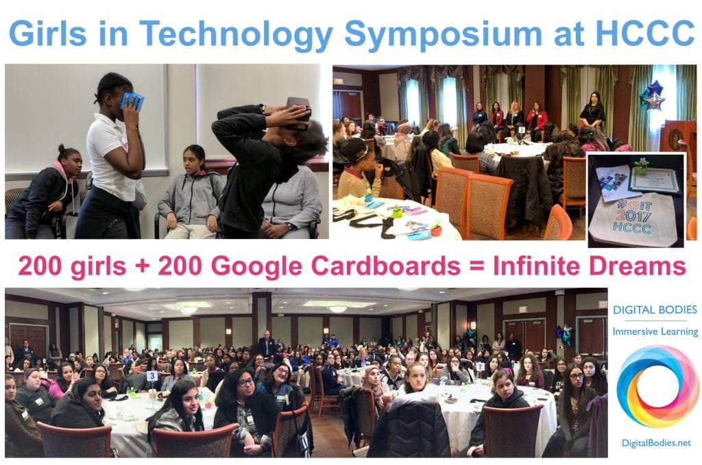 Virtual Reality Playground - Girls in technology Symposium