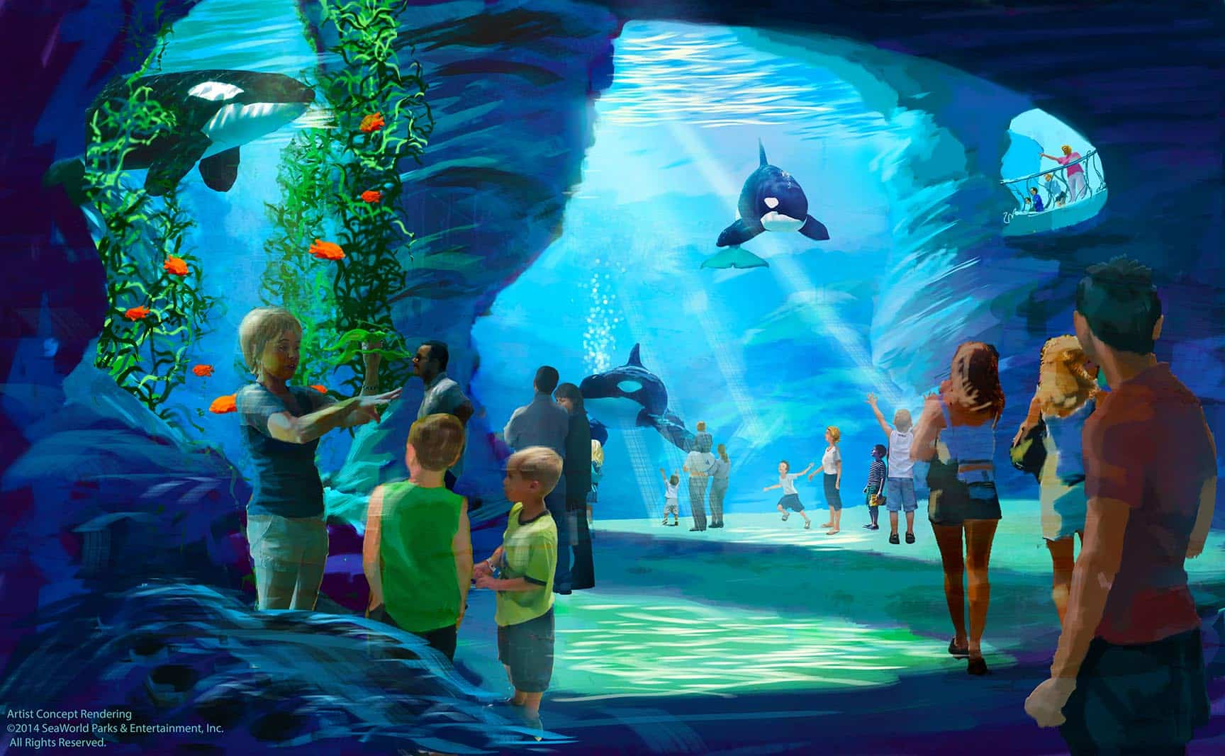 SeaWorlds VR Project