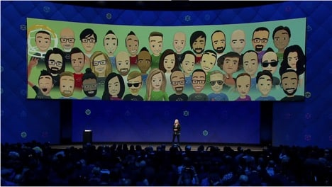 Facebook Spaces at the F8 Conference