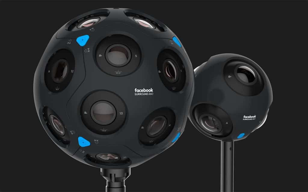 AR, VR and AI will incorporate Facebook's Surround 360 Camera