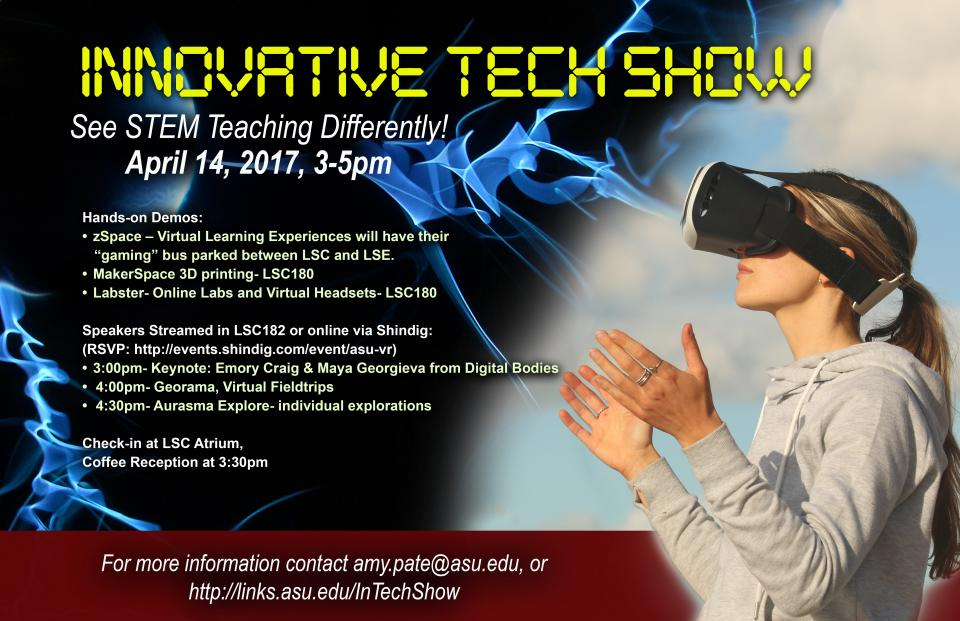 ASU Innovative Tech Show - VR and STEM