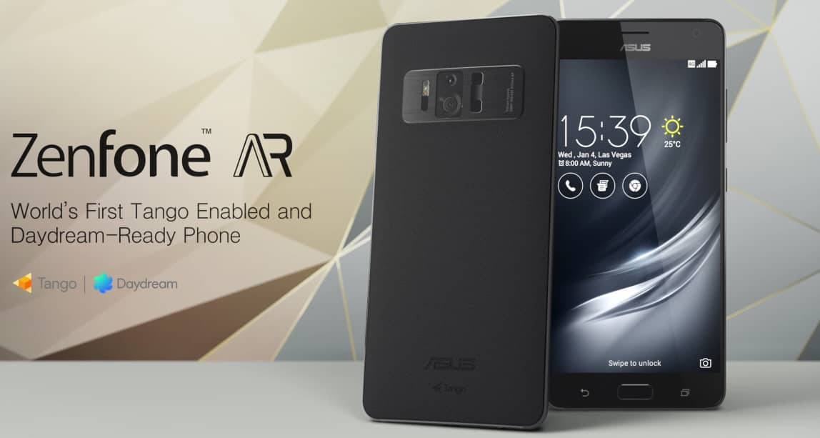 Asus ZenFone AR - both VR and AR on the same device