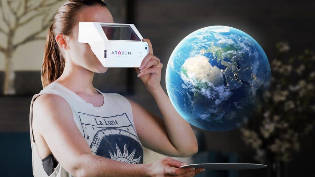 Aryzon Cardboard AR Headset