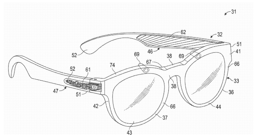 Patent for possible new AR Glasses from Snap