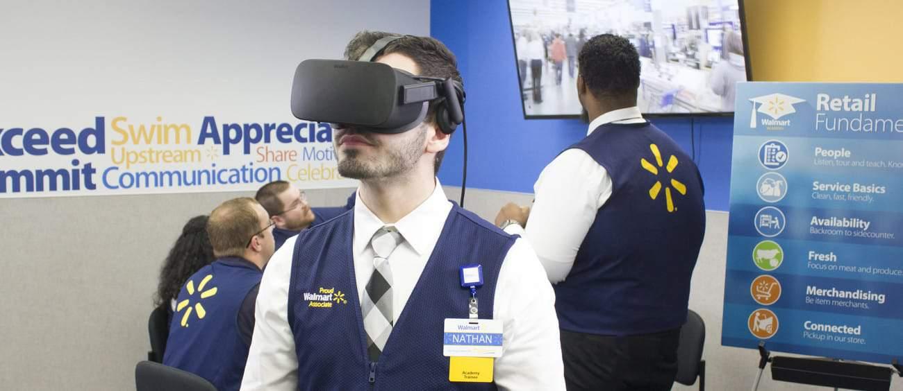 Walmart VR Training Simulator