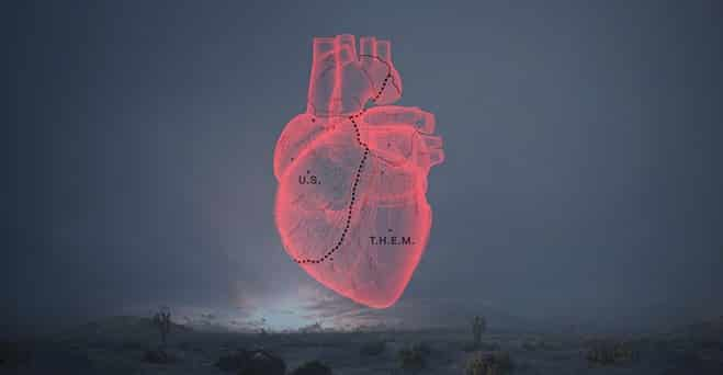 "An image from the ""Carne y Arena"" experience from director Alejandro G. Iñárritu. (Neil Kellerhouse.)"