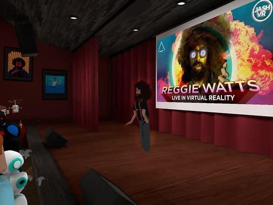 Reggie Watts - in AltSpaceVR