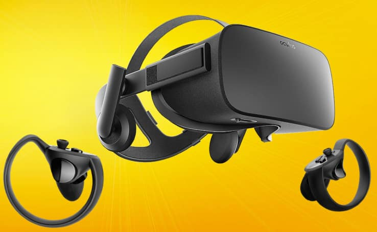 oculus rift sale with touch controllers