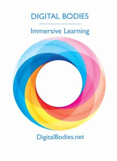 Digital Bodies LLC Logo for educational consulting in VR and AR