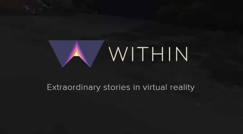 The groundbreaking VR tech and entertainment company, Within.