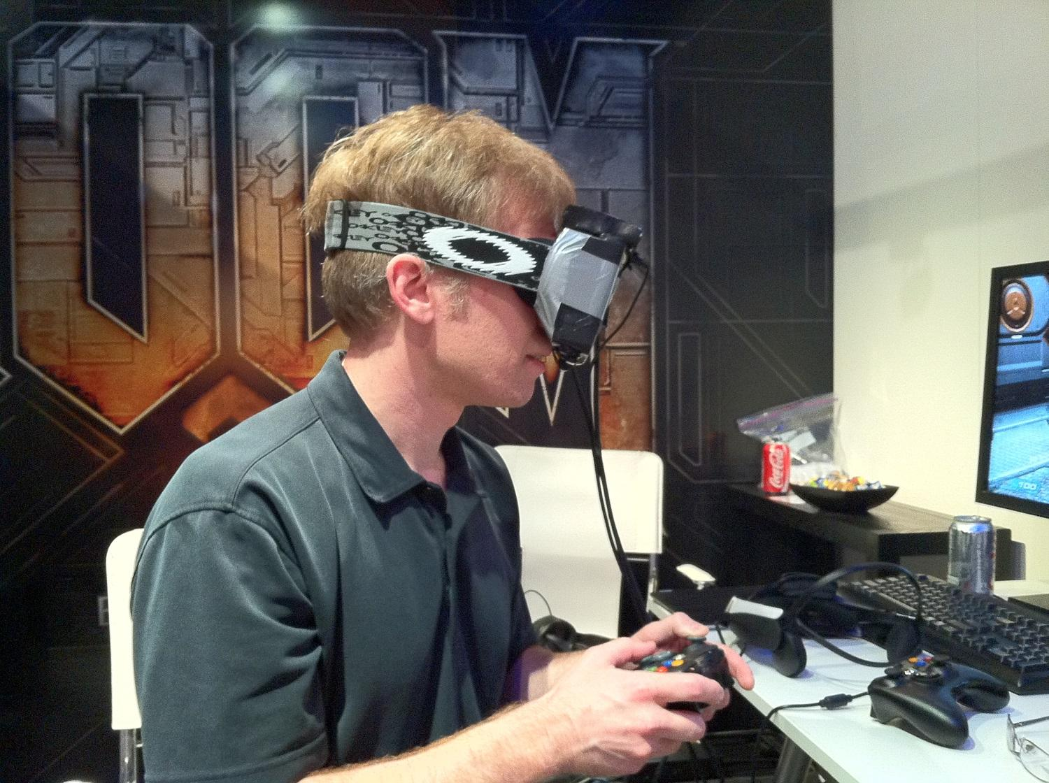 Carmack explains virtual reality.