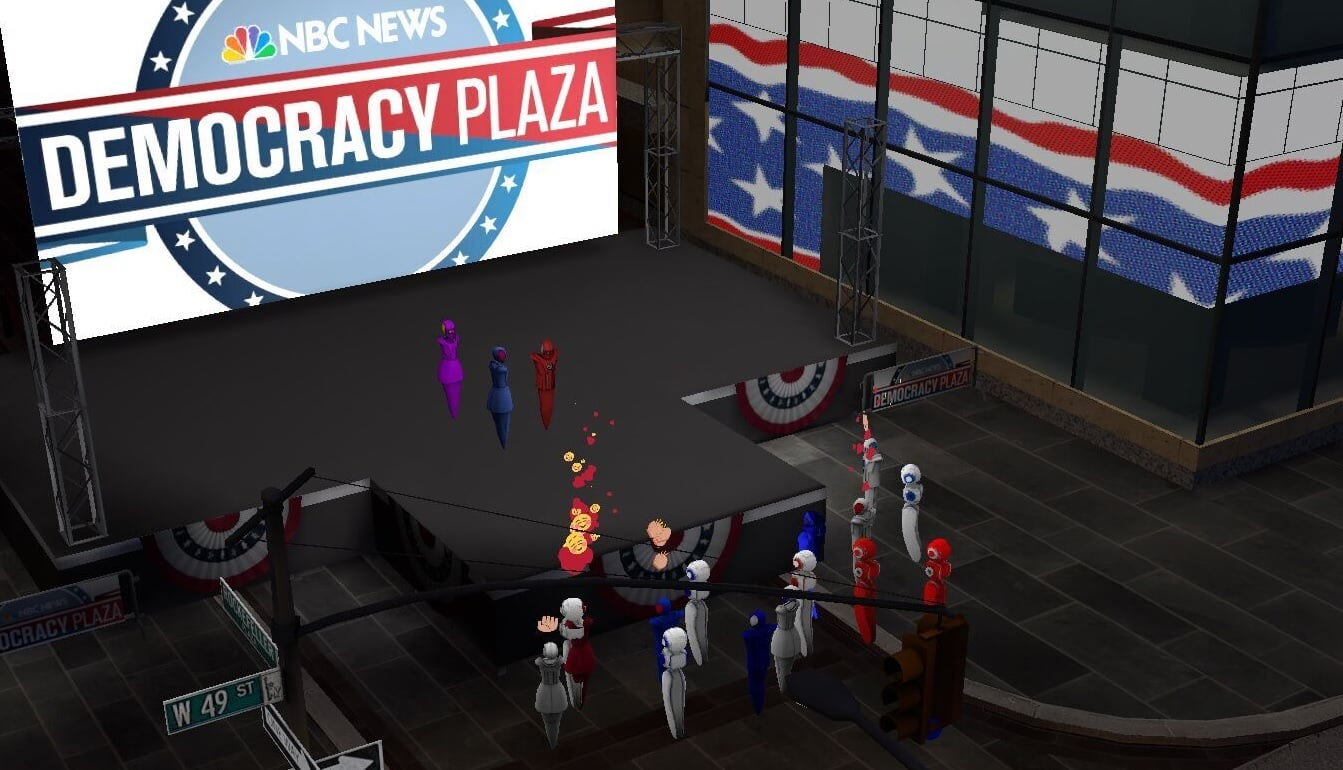 AltSpaceVR Democracy Plaza