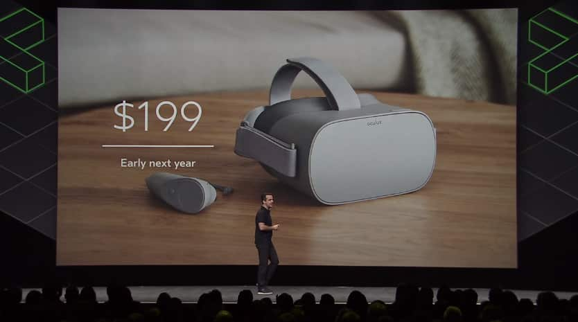 Oculus Connect Conference: Oculus Go Standalone VR Headset