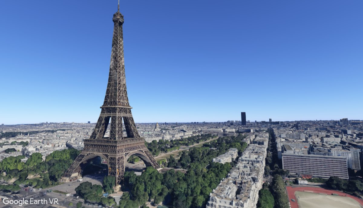 Google Earth VR Paris