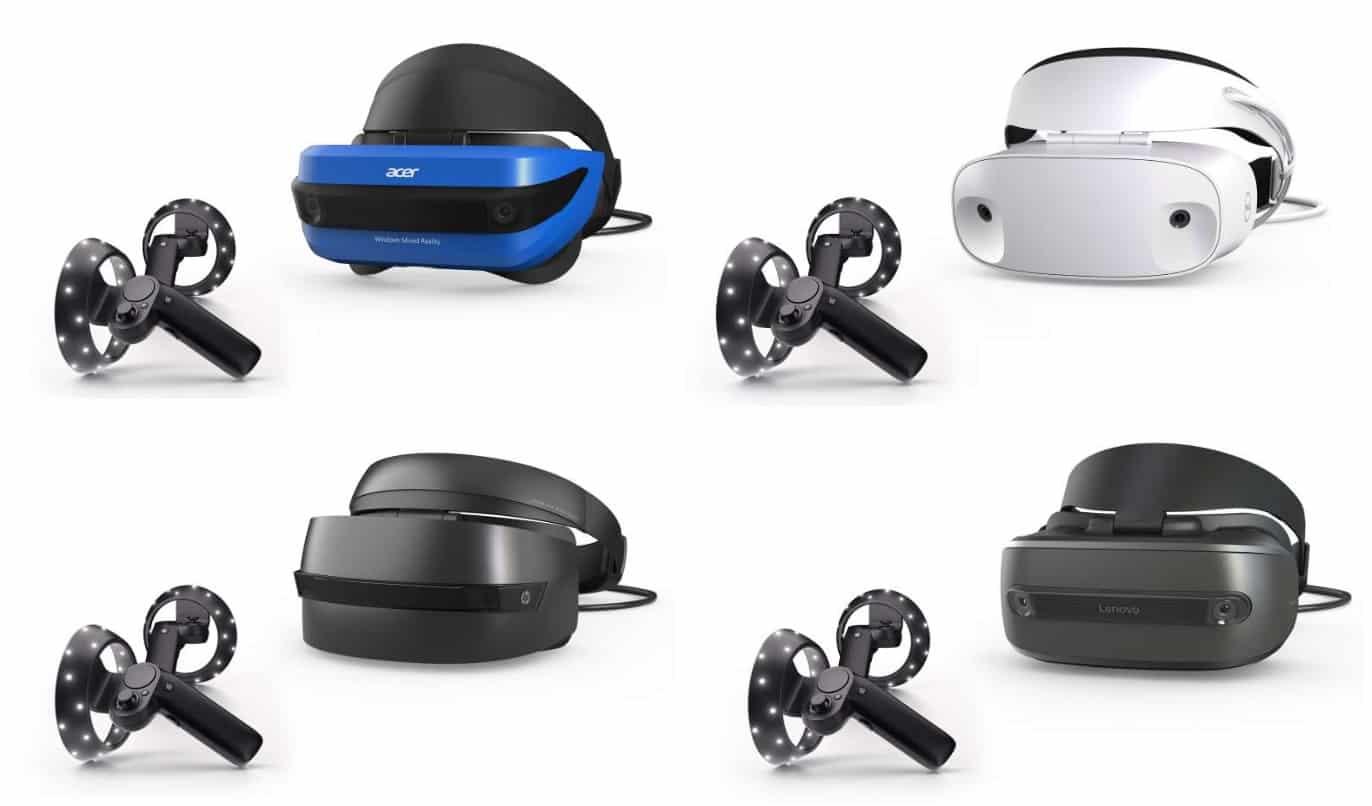 Microsoft Mixed Reality Headsets