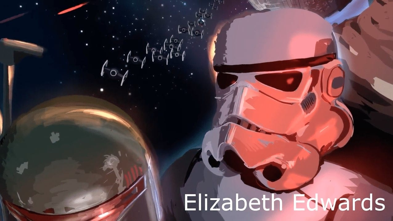 Elizabeth Edwards tilt brush VR Painting
