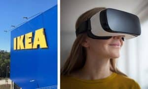 IKEA VR Headsets given to Employees