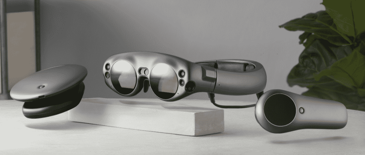 Magic Leap AR device consists of three components