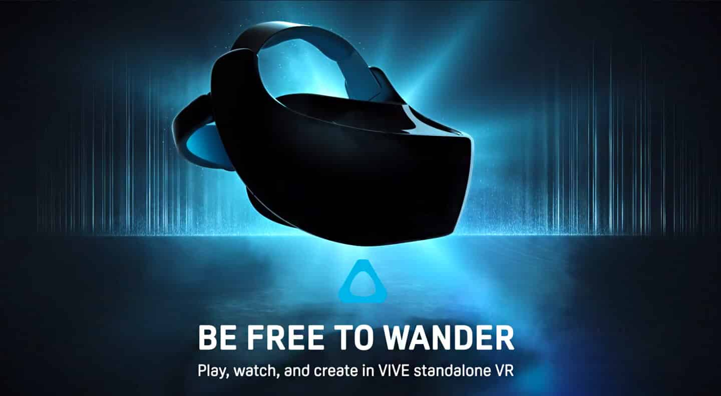 Vive Focus standalone headset