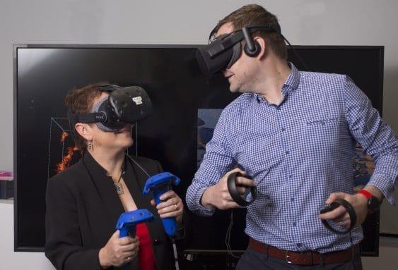 VR in Medicine - Professor Maria Kavallaris and Associate Professor John McGhee
