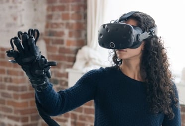 The VR Glove from Haptx makes the virtual feel real