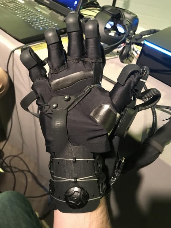 The Haptx VR Glove
