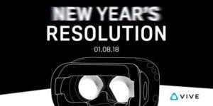 New HTC Vive VR headset