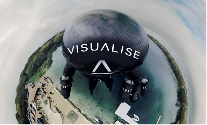 Visualize VR Flight 360 Video