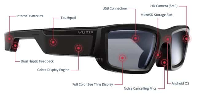 Vuzix Blade AR Glasses